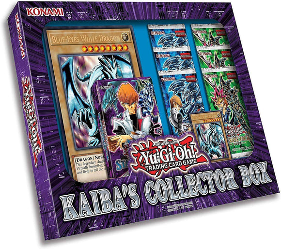 Yu-Gi-Oh! TCG - Kaiba's collector Box Retail Card Game Konami Digital Entertainment 0083717835325 KS000675C