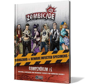 Zombicide: Compendium #1 Retail Board Game Supplement Asmodee