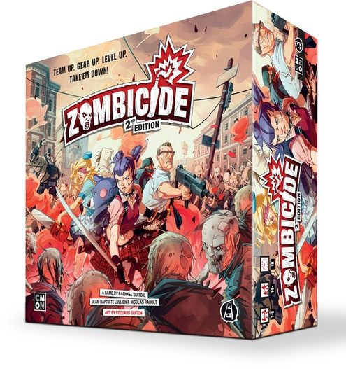 Zombicide: Daily Zombie Spawn Set Expansion Second Edition (Kickstarter Pre-Order Special) Kickstarter Board Game Expansion CMON KS000781K