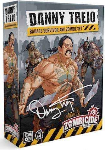 Zombicide: Danny Trejo Set Expansion Second Edition (Kickstarter Pre-Order Special) Kickstarter Board Game Expansion CMON KS000781M