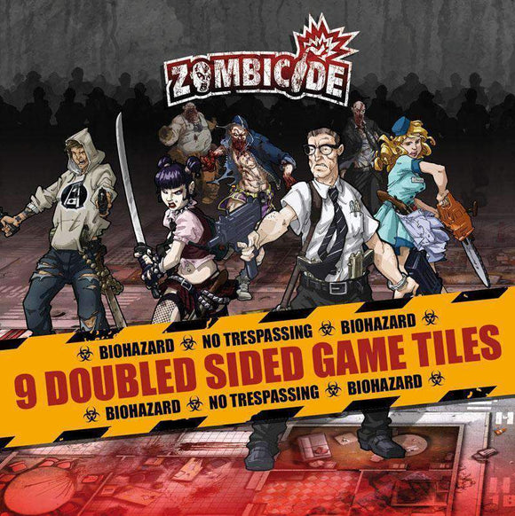 Zombicide: Double Sided Game Tiles Retail Board Game Supplement Asmodee