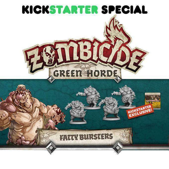 Zombicide: Green Horde Fatty Bursters (Kickstarter Special) Kickstarter Board Game Expansion CMON Limited KS000716E