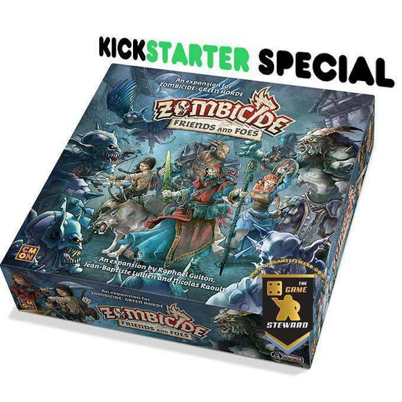Zombicide: Green Horde Friends & Foes (Kickstarter Special) Kickstarter Board Game Expansion CMON Limited KS000716A