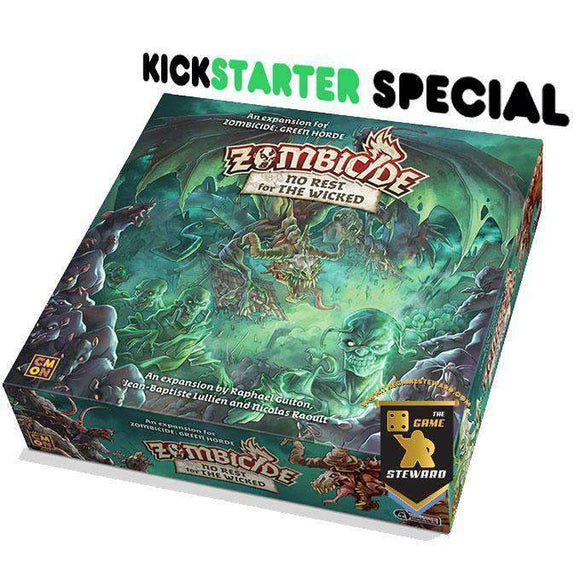 Zombicide: Green Horde No Rest for the Wicked (Kickstarter Special) Kickstarter Board Game Expansion CMON Limited KS000716B