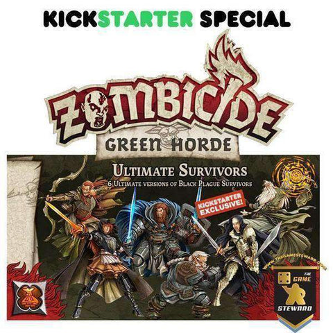 Zombicide: Green Horde Ultimate Survivors (Kickstarter Special) Kickstarter Board Game Expansion CMON Limited KS000716C