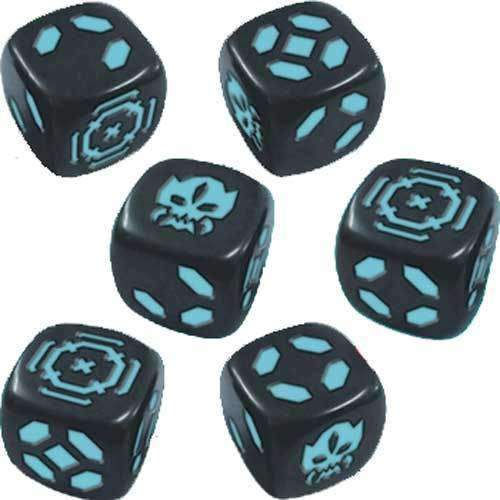 Zombicide: Invader Blue Dice Pack (Kickstarter Special) Kickstarter Board Game Expansion CMON Limited KS000781H