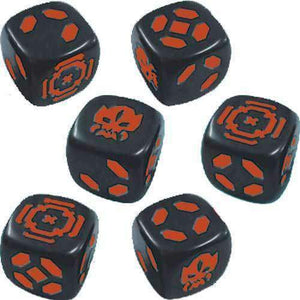 Zombicide: Invader Orange Dice Pack (Kickstarter Pre-Order Special) Kickstarter Board Game Expansion CMON Limited