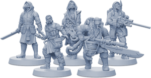 Zombicide: Invader Plague Survivor Pack (Kickstarter Pre-Order Special) Kickstarter Board Game Expansion CMON