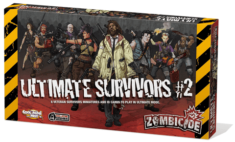 Zombicide: Ultimate Survivors #2 Retail Board Game Supplement CMON Limited 0889696002105 KS000701
