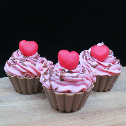 Chocolate Cherry Cupcake - Black Gold Soap Company
