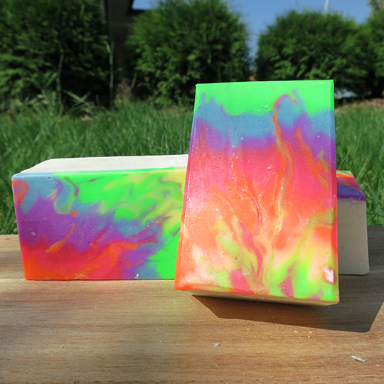 Rainbow Fyre - Black Gold Soap Company