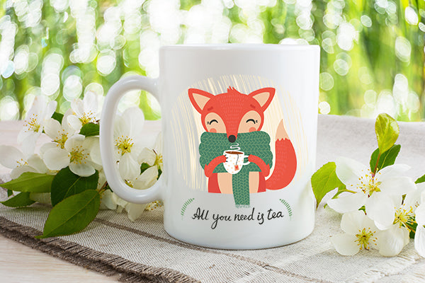 All you need is tea - Dishwasher Safe Mugs