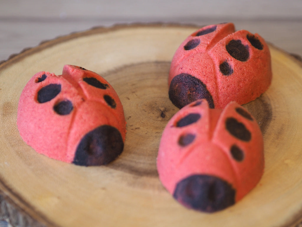 Lady Bug Bath Bomb