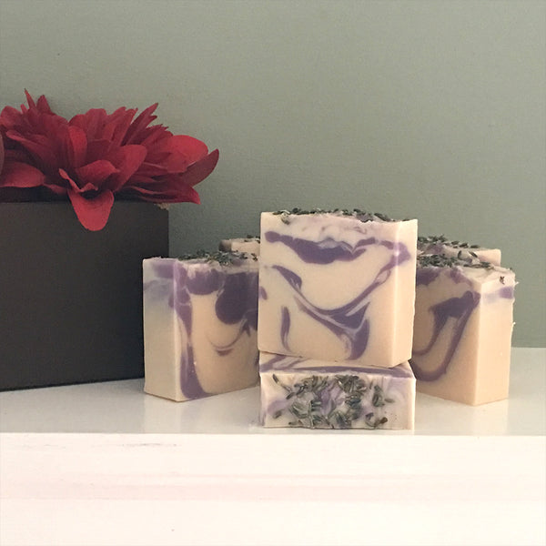 Lilac and Lillies Cold Process Soap