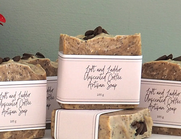 Loft and Ladder Coffee Soap (Unscented) Cold Process Soap