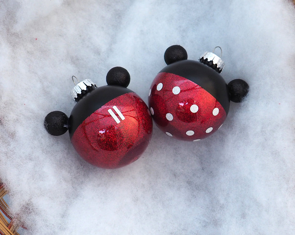 Character Ornaments - Mickey or Minnie Mouse