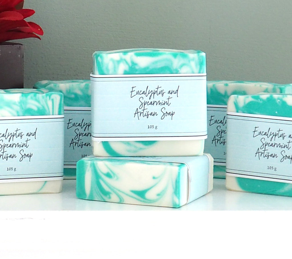 Eucalyptus and Spearmint Cold Process Soap