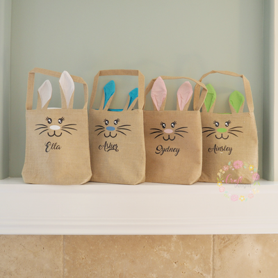 Easter Bunny Bag - Personalized