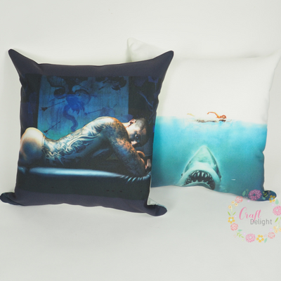 Sublimation Pillow - Any Image   you think it, we create it