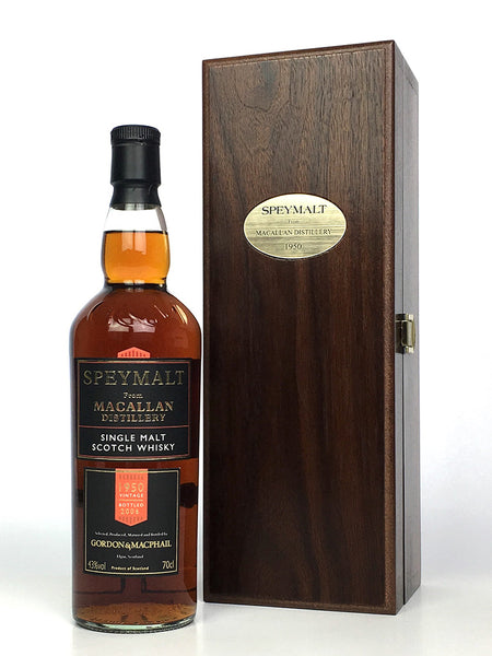 1950 Macallan G&M Speymalt 55 Year Old (bottled 2006)
