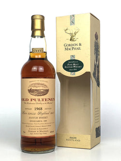 1968 Old Pulteney Single Cask G&M (bottled 1999)