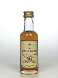 Miniature 1969 Macallan 18 Year Old 5cl