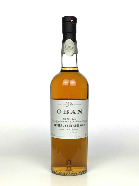 1969 Oban 32 Year Old (bottle only)