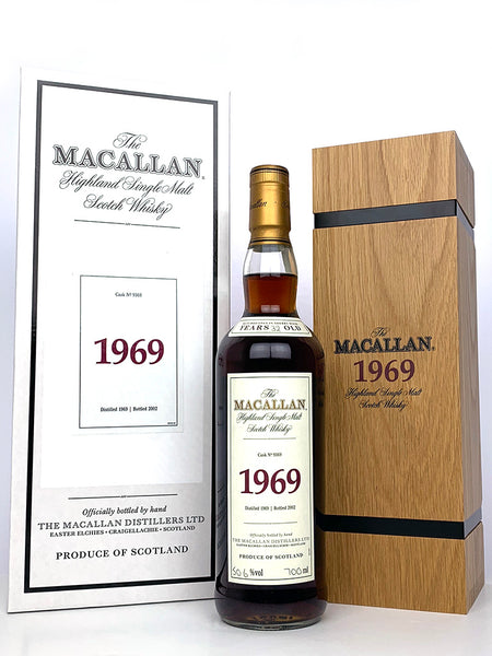 1969 Macallan 32 Year Old Fine and Rare