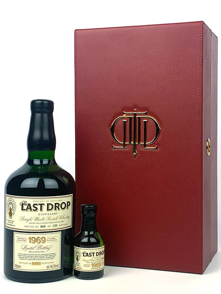 1969 Glenrothes Single Cask #16203 The Last Drop