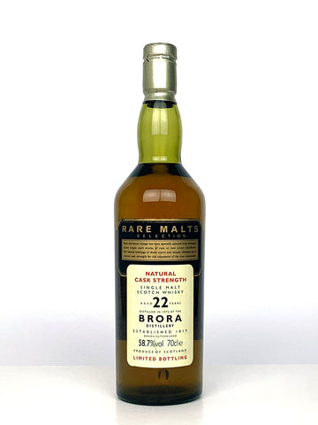 1972 Brora 22 Year Old Rare Malts