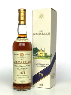 1974 Macallan 18 Year Old