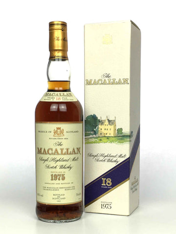 1975 Macallan 18 Year Old