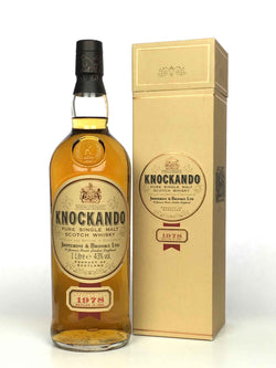 1978 Knockando (bottled 1992)