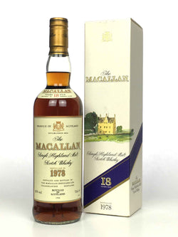 1978 Macallan 18 Year Old