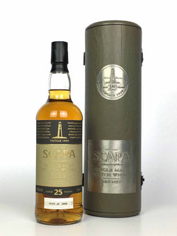 1980 Scapa 25 Year Old (75cl edition)