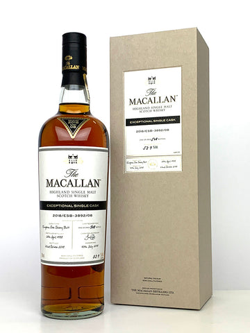 1988 Macallan Exceptional Single Cask 2018/ESB-3892/08