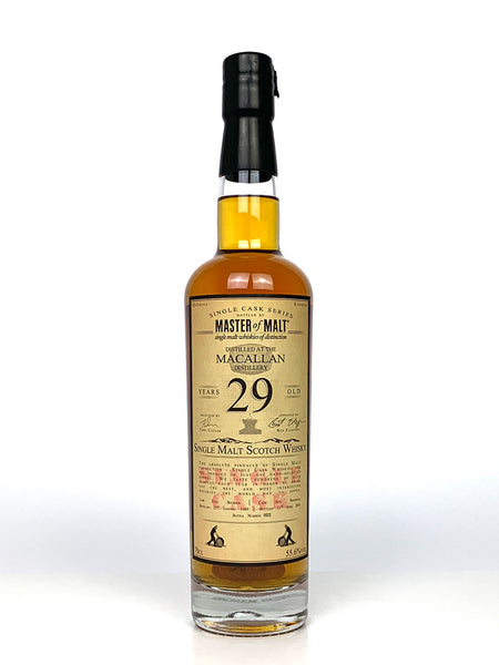 1989 Macallan 29 Year Old Single Cask Master of Malt