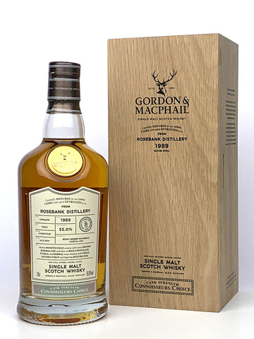 1989 Rosebank 30 Year Old G&M Connoisseurs Choice