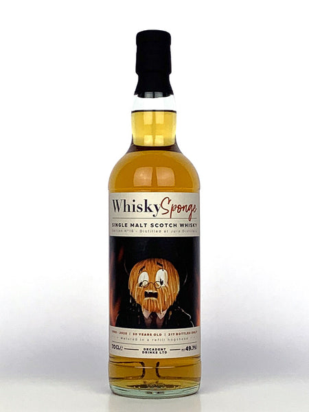 1990 Jura 30 Year Old Single Cask Whisky Sponge