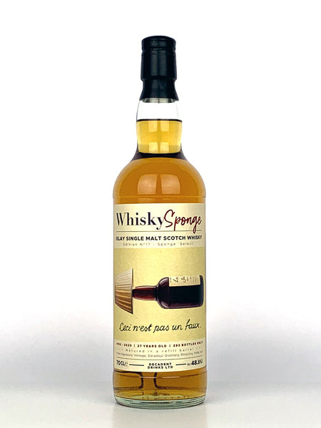 1992 Islay 27 Year Old Single Cask Whisky Sponge (Laphroaig)