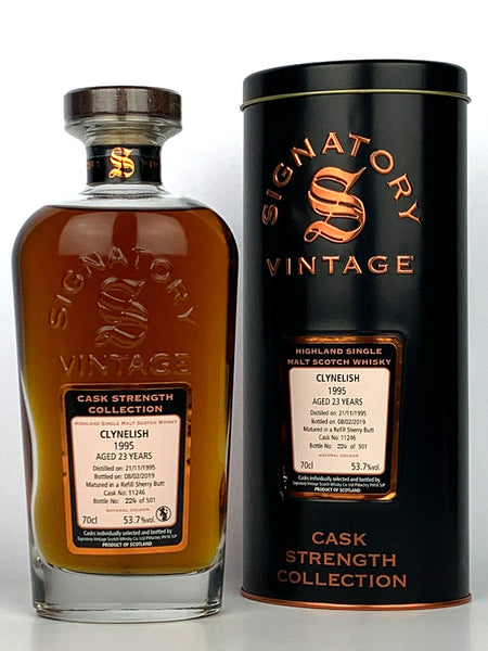 1995 Clynelish 23 Year Old Single Cask Signatory