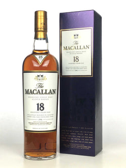 1996 Macallan 18 Year Old Sherry Oak