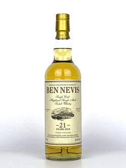 1996 Ben Nevis 21 Year Old Private Cask #1407