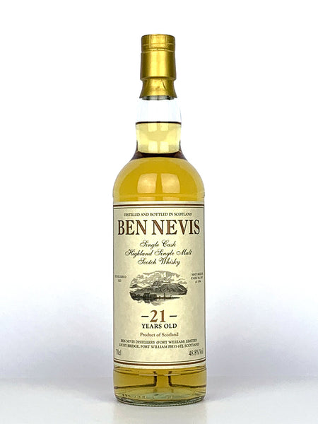 1996 Ben Nevis 21 Year Old Single Cask #1407