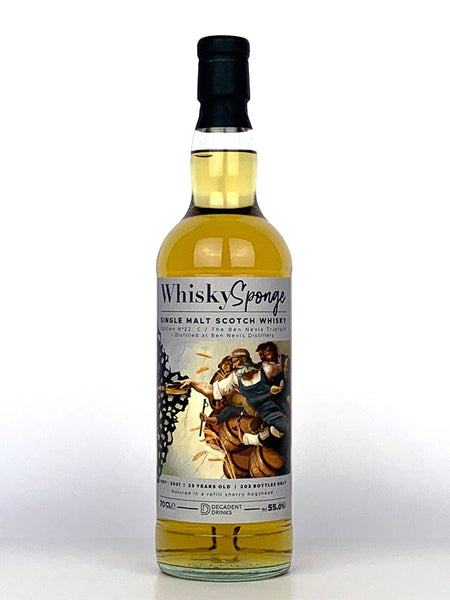 1997 Ben Nevis 23 Year Old Whisky Sponge C