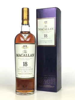 1997 Macallan 18 Year Old Sherry Oak