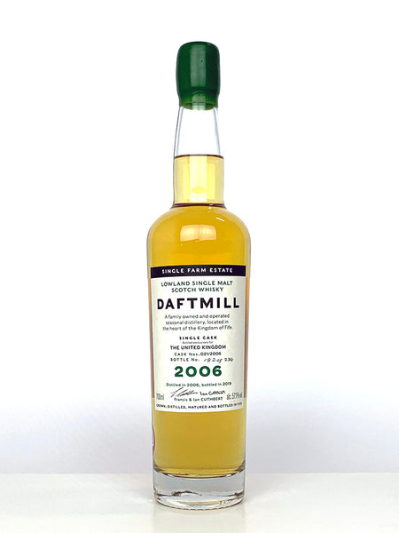 2006 Daftmill Single Cask #21 UK Exclusive
