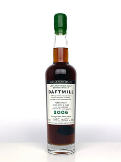 2006 Daftmill Single Cask #39 For BBR