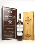 Macallan 40 Year Old Sherry Oak (2016 Release)