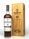 Macallan 40 Year Old Sherry Oak (2017 Release)